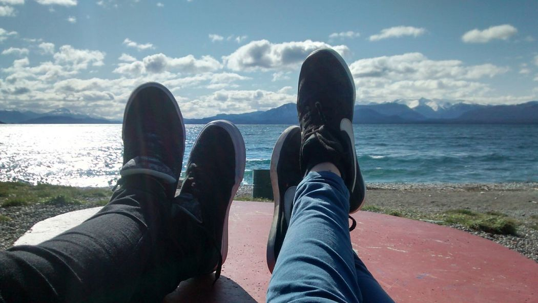 Personal Perspective Relaxation Sky Coastline Vacations Outdoors Bariloche, Argentina
