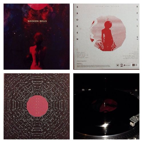Now Spinning Broken Bells  After the Disco Now Playing Music Records My Vinyl Collection Vinyl Danger Mouse