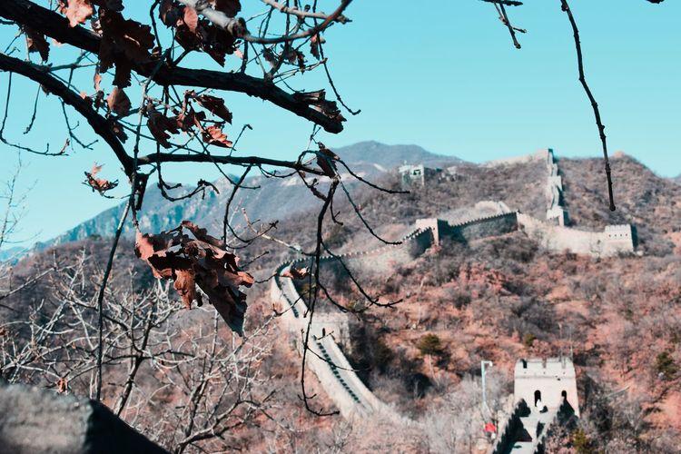 A world wonder Greatwallofchina Thegreatwall China Beijing Mutianyu Worldwonder Visitasia Visitchina Travelpics Travelphography Eyeem Travel The Traveler - 2018 EyeEm Awards