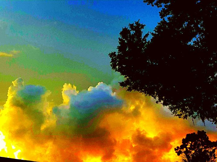 Colour Of Life Sun Setting Through The Clouds Brings Beautiful Stormy Skies. One Of My Favorite Thibgs To Photograph. Heavy Rains Loud Thunder I Catch The Lighting From A Tropical Storm Love To Sit In The Car And Watch The Sky Open Up. The Great Outdoors