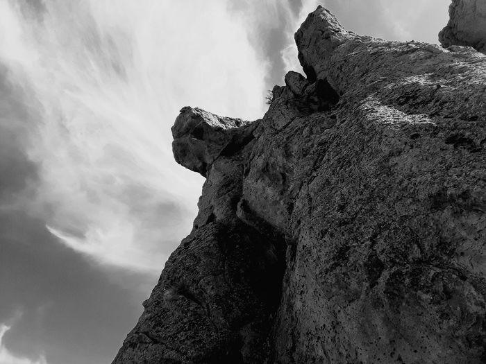 Sky Close-up Cloud - Sky Sculpture Carving - Craft Product Art Cliff