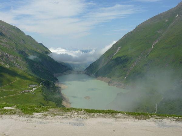 Beauty In Nature Cloud - Sky Kaprun Reservoir Kaprun, Austria Landscape Mountain Outdoors Water