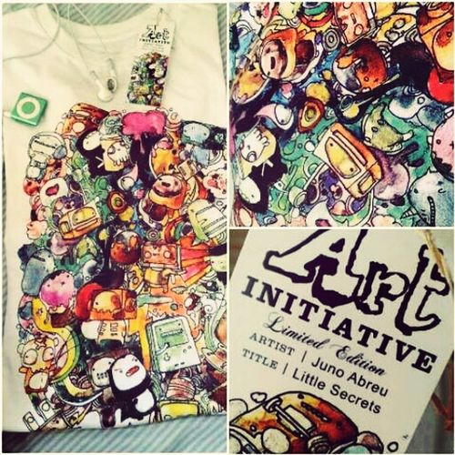 Tshirt design by Juno Abreu available today at Yabang Pinoy, Rockwell Tent. ArtInitiative SupportFilipinoArtists