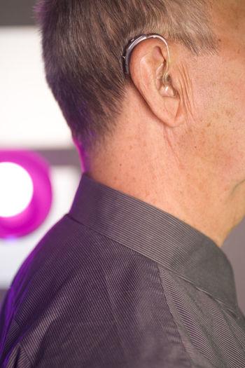 Close-up portrait of man wearing eyeglasses