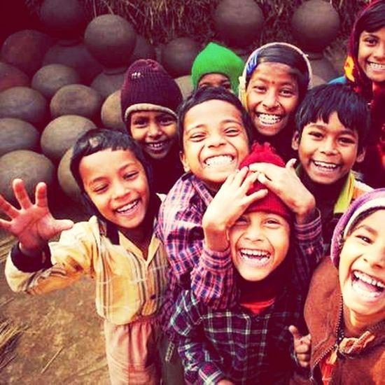 Çocukların gülüşünde saklıdır, koskoca hayat...