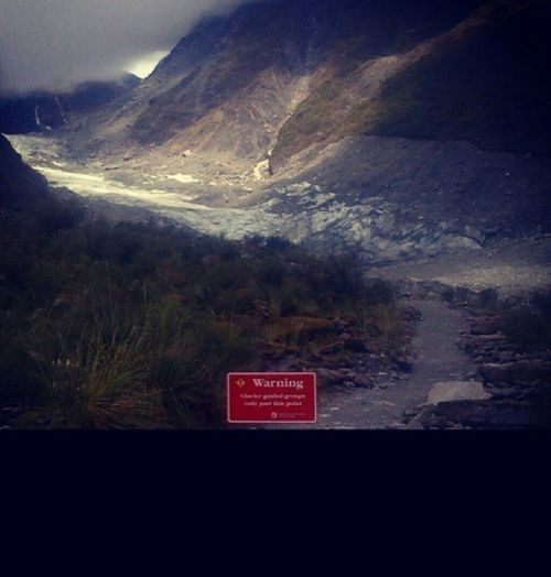 Fox Glacier 13 Km Long New Zealand Named After PM Of NZ In 1872