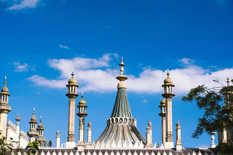 Architecture Brighton Brighton Royal Pavilion Brighton Uk Built Structure Business Finance And Industry City Cityscape Clock Face Cloud - Sky Day No People Outdoors Royal Pavilion Royal Pavilion Gardens Sky Tower Travel Destinations
