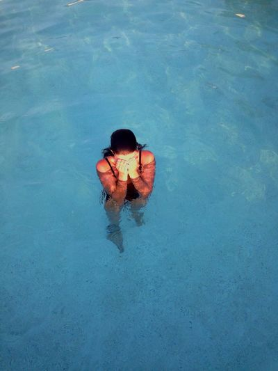 Girl Pool Water