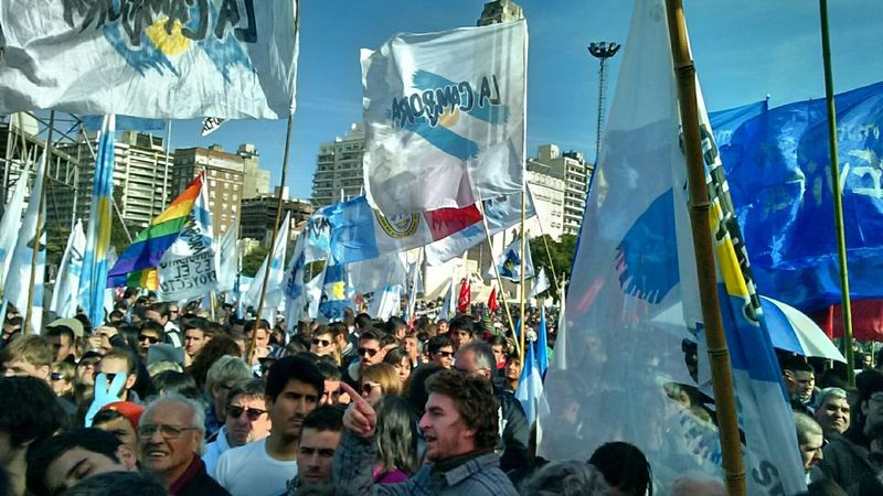 Untold Stories The last CFK's speech at my city. Unforgettable day! CFK Peronismo La Campora Rosario Argentina Kirchner