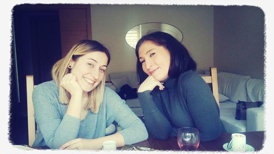 Kahvaltı Cumartesi Keyif :) Kızlarla