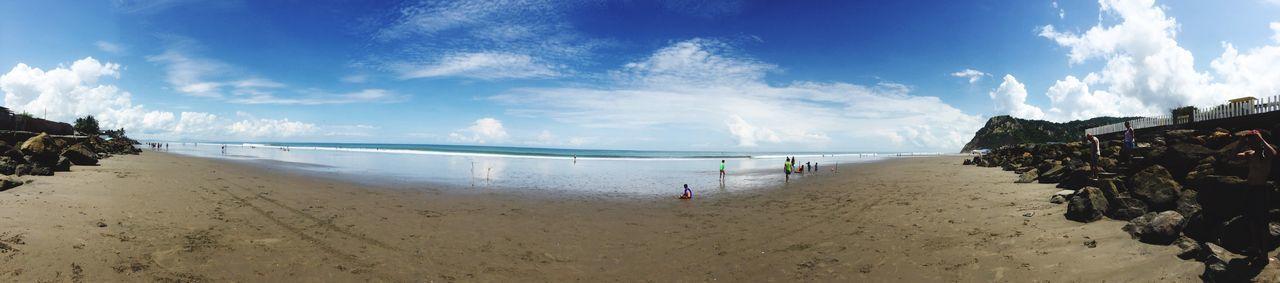 Panoramic Playa #beach Ecuador Manabí Carnaval Feriado