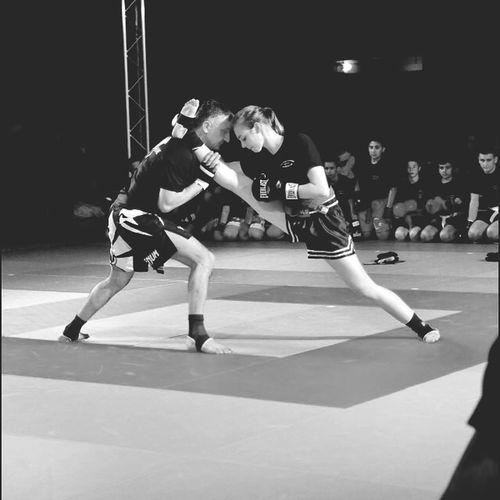 Kickboxing Girl Sport Coach