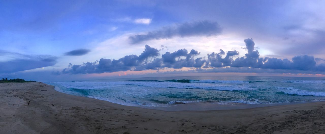Sea Beach Sky Sand Beauty In Nature Cloud - Sky Nature Scenics Tranquility Outdoors