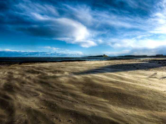 Moving sands Craster Dunstanburgh Castle Embleton North Sea Coast Arid Climate Beach Beauty In Nature Cloud - Sky Day Horizon Over Land Landscape Nature No People Northumberland Coastline Outdoors Sand Sand Dune Sand Storm Scenics Sky Tranquil Scene Tranquility Windy