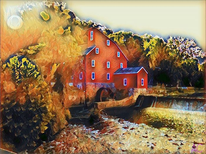 Red Mill, Clinton N. J. Raritan River New Jersey Building Exterior Nature Outdoors ArchitectureIndoors  Photography Colorsplash No People
