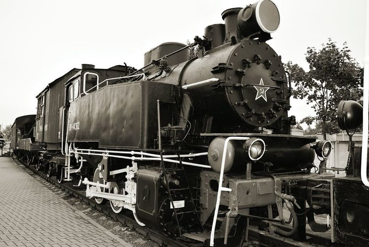 Taking Photos Photography Train Belarus Brest Train Museum Retro Train Steam Engine Steam Locomotive German