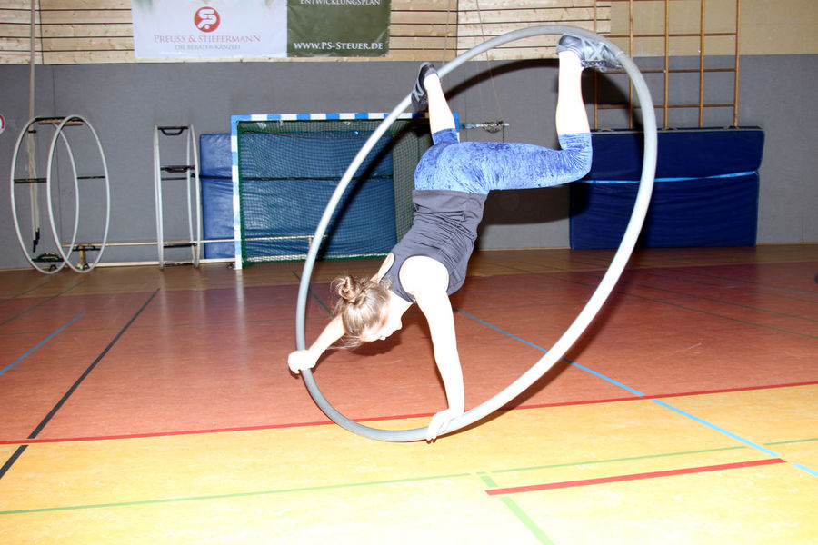 Arnsberg Cyr Wheel Indoors  One Person Sport Sports Photography Sports Training Turnen