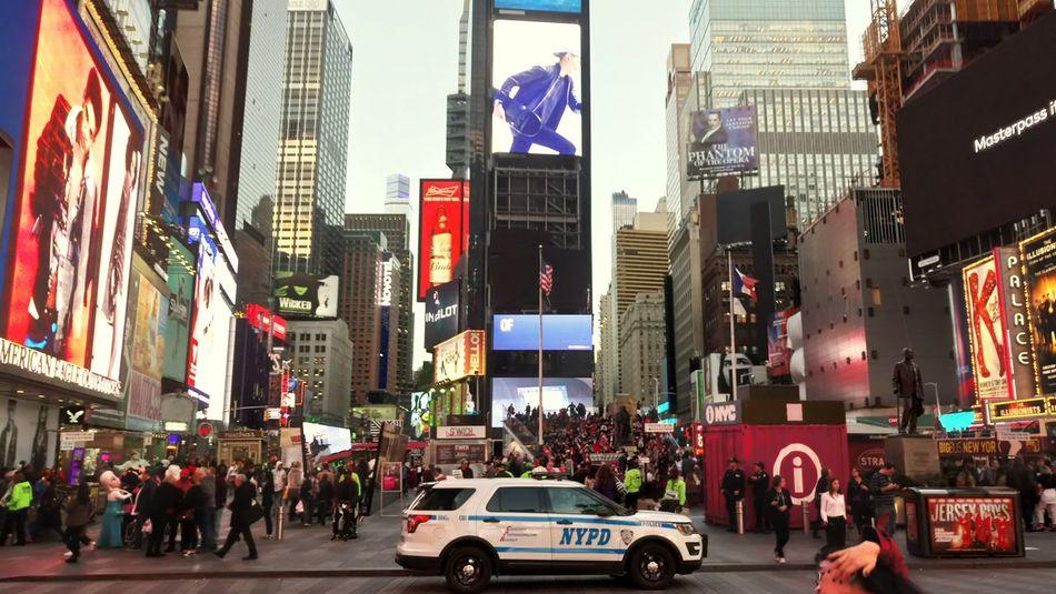 Time Square, New York Time Square, New York City, NY Nyc Police