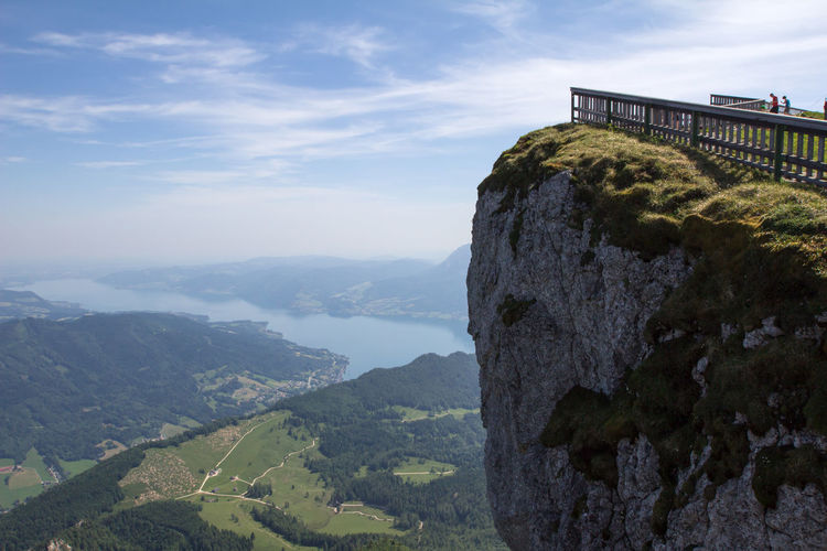 Schafberg (Austria) Austria Architecture Beauty In Nature Built Structure Cloud - Sky Day Environment Idyllic Landscape Mountain Mountain Peak Mountain Range Nature No People Non-urban Scene Outdoors Rock Rock - Object Scenics - Nature Schafbergspitze Sky Solid Tranquil Scene Tranquility