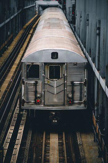 NYC New York City Urban Photography Subway Rail Transportation Train Track