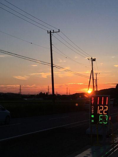 夕焼け 夕景 Sunset