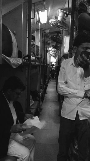 Passengers Passenger Train Train Compartment Commuters Indian Railways People EyeEm Selects