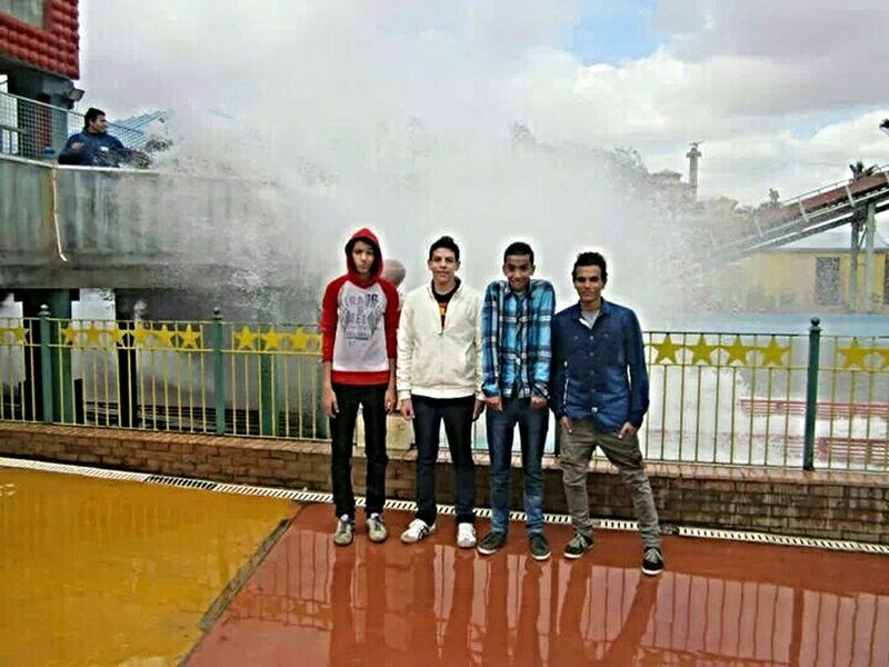 Nice Day at Dream Park Friendship ❤ Withfriends Water_collection Enjoying Life