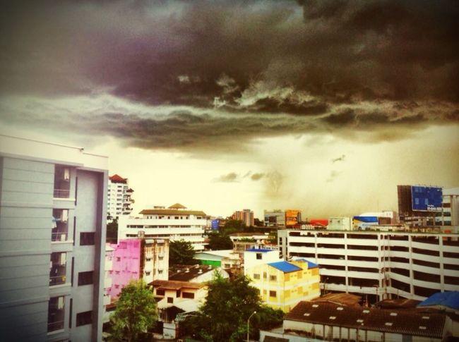 Storm Stormy Weather Thailand Ngamwongwan
