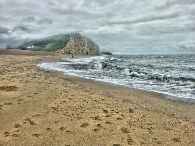 Enjoying Life Taking Photos Summer Memories 🌄 Nature On Your Doorstep West Bay Dorset Uk Shingle Beach Waves, Ocean, Nature