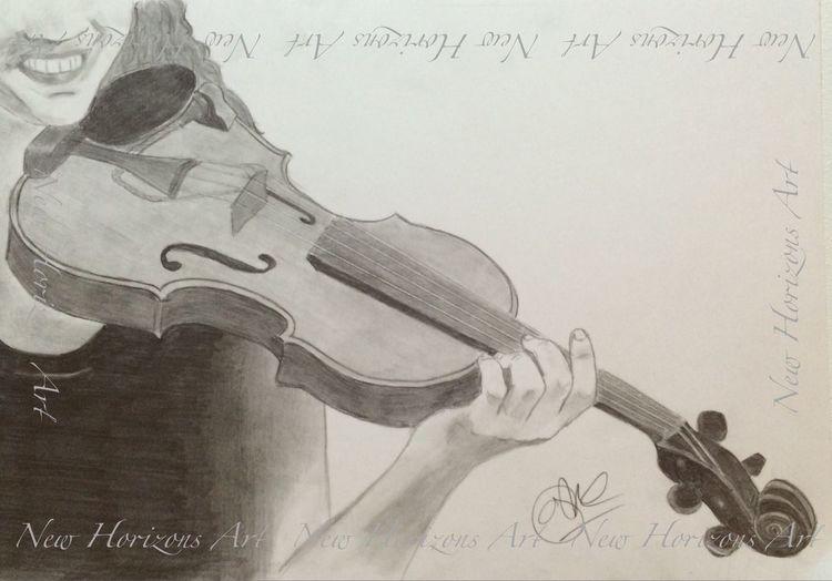 Violinist graphite sketch Art #illustration #drawing #draw #tagsforlikes #picture #photography #artist #sketch #sketchbook #paper #pen #pencil #artsy #in Myartwork ArtWork Violin