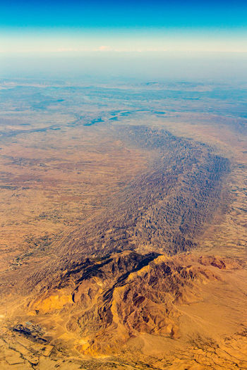 Desert From Above  Aerial Aerial Photography Aerial View Arid Climate Arid Landscape Beauty In Nature Dramatic Landscape Environment From An Airplane Window Landscape Mountain Range Nature No People Outdoors Ridge