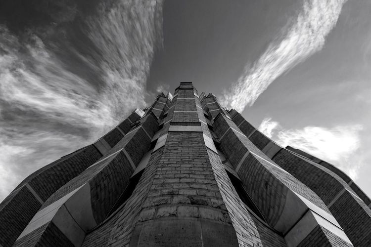 Church Church Architecture Buildings Buildings & Sky Dramatic Sky Blackandwhite Black And White Architectural Column Architecture_collection EyeEm Selects Architecture Built Structure Sky Cloud - Sky Building Exterior Low Angle View City No People Outdoors Travel Destinations Building Tall - High Tower Travel History Skyscraper Historic Directly Below Monument Historic Building The Architect - 2018 EyeEm Awards My Best Photo