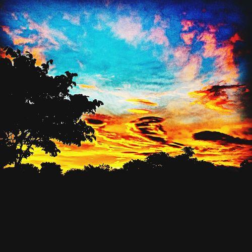 Costa Rica Barva Sunset