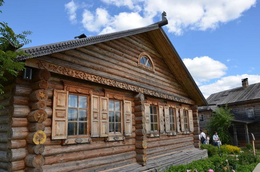Этномир ЯПРФ Architecture Built Structure Outdoors Russia Tree Village Россия этномир Country House Historic House