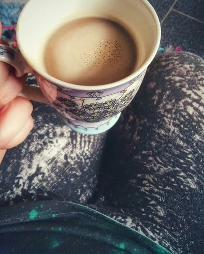 Coffee Coffee Time Coffeelover Me ThatsMe Picoftheday Photooftheday Like4like Follow4follow Nofilter Legging Leggings Legs Outfit Outfitoftheday Girl Woman Alternativegirl Metalhead Friday Morning Morningtime Weekend One Person Its Me