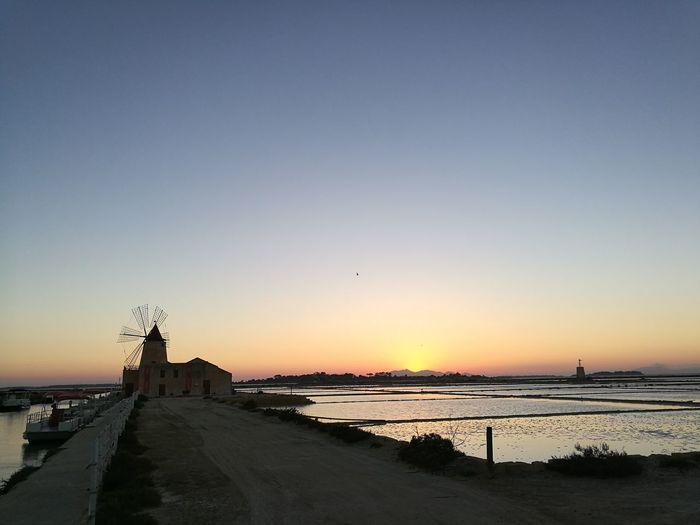 Saline della laguna, Marsala