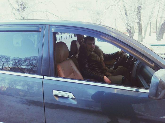 омск сибирь красота Машина автомобиль американец джип кожа полный фарш