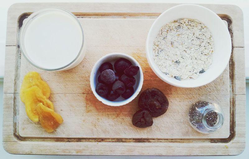 Healthy Food Oatmeal Vegan Clean Eating