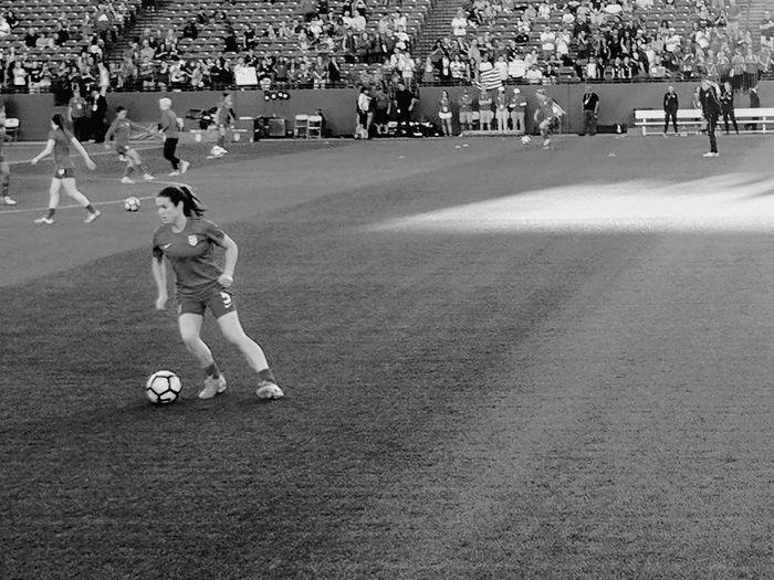 Soccer USWNT USWNT Game USAvRUS KellyOhara Toyotastadium Frisco, TX