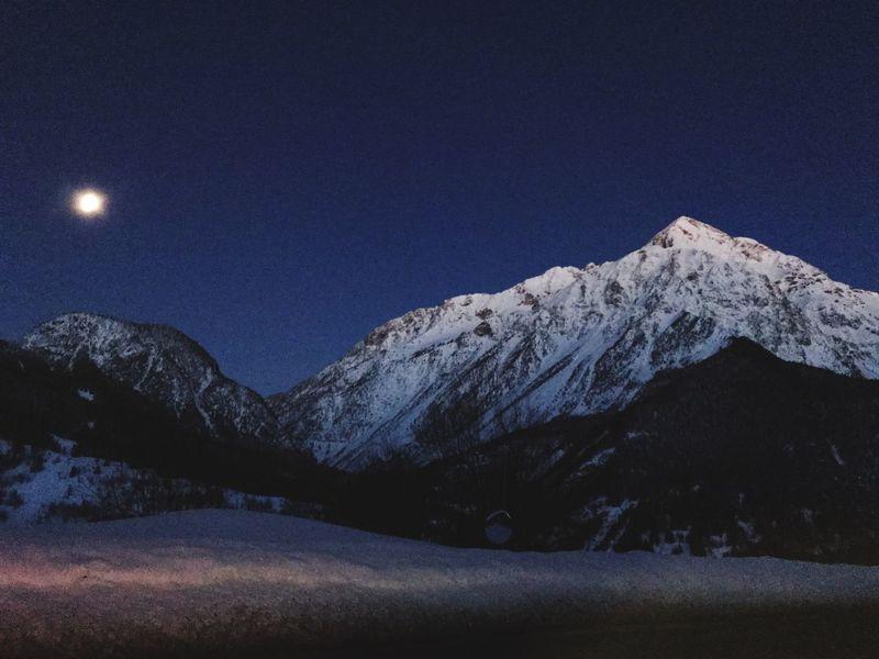 Chaberton Scenics - Nature Sky Snow Mountain Cold Temperature Winter Beauty In Nature