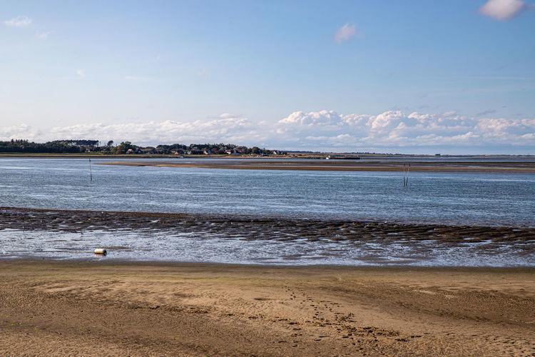 Low tide in the