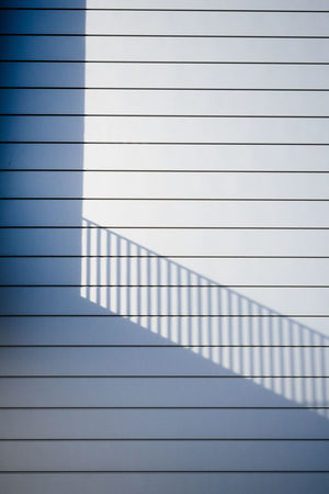 stairs Abstract Architecture Backgrounds Blue Close-up Day Full Frame Grid Indoors  LINE Minimalism Minimalist Architecture Minimalobsession No People Page Paper Pattern Shadow Technology The City Light White Color