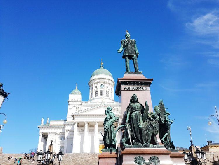 April2016 Day10 Finland Helsinki Oldtown Helsinki Cathedral Square