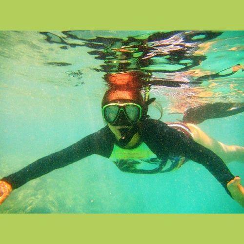 Super fun under the sea Snorkeling Hanaumabay Hawaiilife Bluesky bluewater luckywelivehawaii lifeisgood happylifey goodtimes