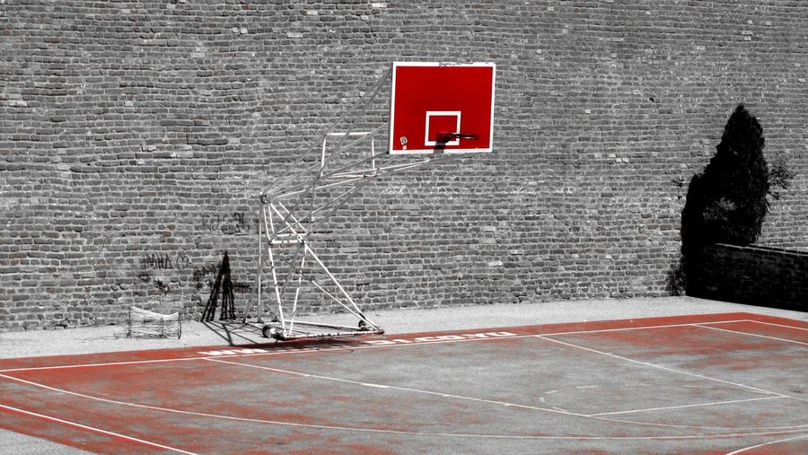 Basketball Sports Red Outdoors Streerphotography Street Basketball Colors Playing Srbija Serbia Beograd