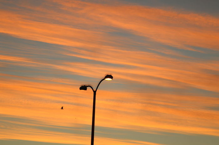 Cloudy Electricity  Glooming Lamp Lamp Post No People Outdoors Red Clouds Red Skies Sky Sunset