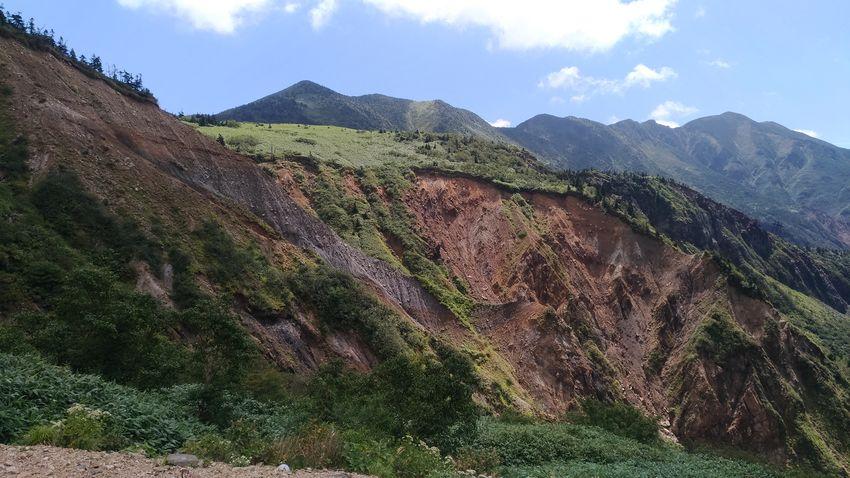 Mudslide Hakusan Hakusan Kanazawa Dormant Volcano Volcano Mountain Tree Tea Crop Sky Mountain Range Landscape Cloud - Sky EyeEmNewHere Go Higher