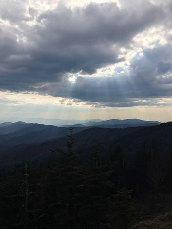Mountains Adventure Nature Nature Photography Trees Clouds And Sky Landscape Sky Mountain Nature Beauty In Nature Forest Travel Photography Photography Hiking Photography Hiking North Carolina Tennessee Clingmans Dome Appalachian Mountains Appalachian Trail Naturephotography Smoky Mountains
