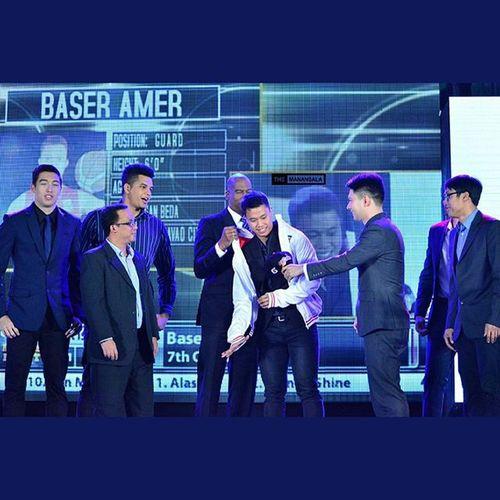 San Beda star 'The Lion King' Baser Amer (@baseramer07) is seventh overall pick by Meralco Bolts 🏀 . . . Pba PBARookieDraft2015 Rookies hoop ballers ballislife themanansala