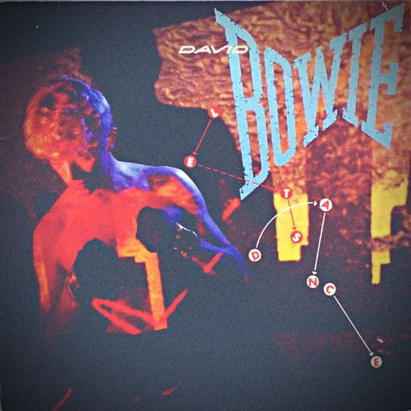 David Bowie Rock 70s Orange